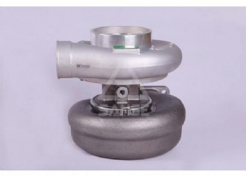 Excavator Engine Parts ZAX470 , 6WG1 Diesel Engine Turbocharger